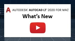 AutoCAD LT for Mac Whats New CZ